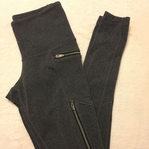 Athleta herringbone zipper tight